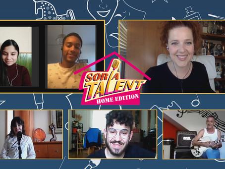 Canto, baile y malabares se disputan pasar a la final de Soria Talent Home Edition