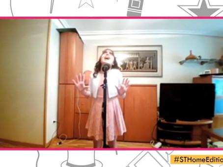 Nuria Peter, de 11 años, gana Soria Talent Home Edition