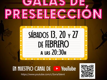 Arrancan las galas de preselección de la segunda edición de Soria Talent
