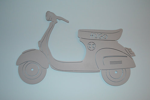 Scooter type Vespa personnalisable
