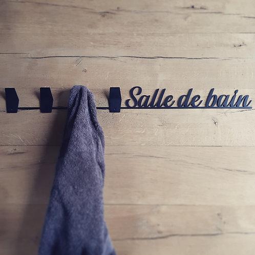 """Porte serviettes """" Salle de bain """""""
