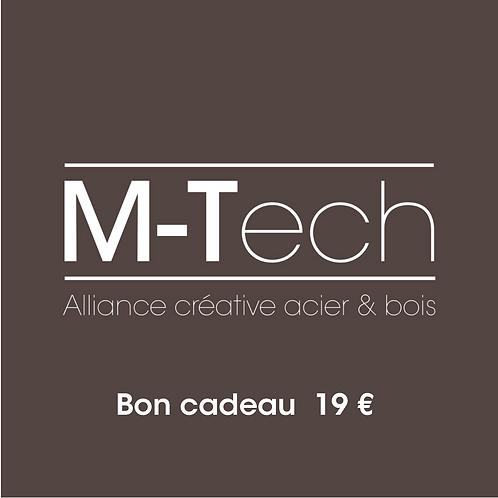 Chèque cadeau M-Tech