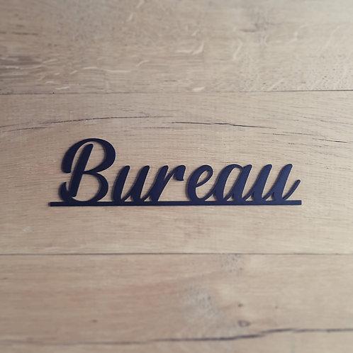 "Plaquette ""Bureau"""