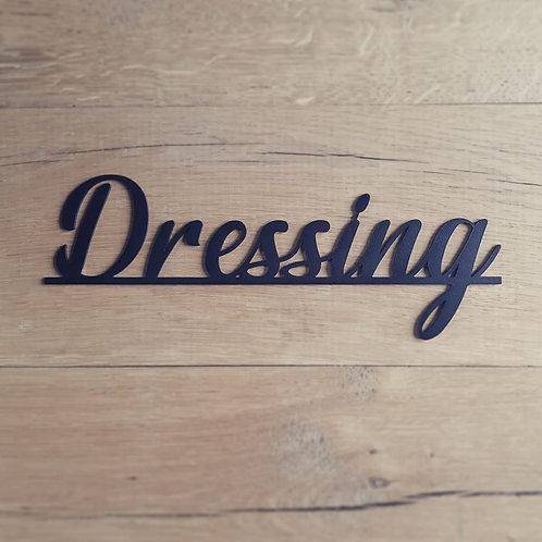 """Plaquette """"Dressing"""""""