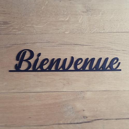 """Plaquette """"Bienvenue"""""""
