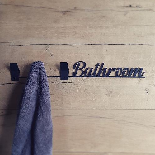"Porte serviettes ""Bathroom"""