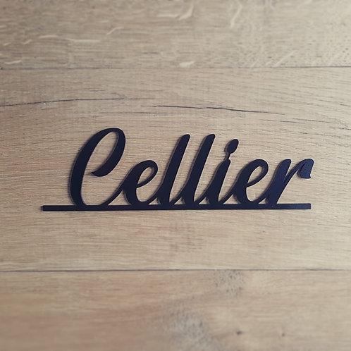 """Plaquette """"Cellier"""""""