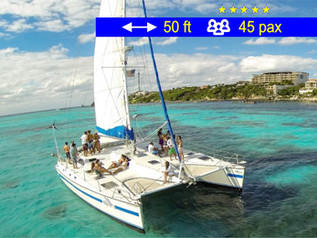 Catamaran Tours Group Max Cancun               50 ft  /  45 pax