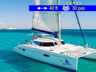 Catamaran Party Tours II Cancun             40 ft  /  30 pax