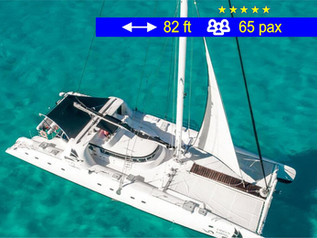 Catamaran Tours Amazing Cancun               82 ft  /  65 pax