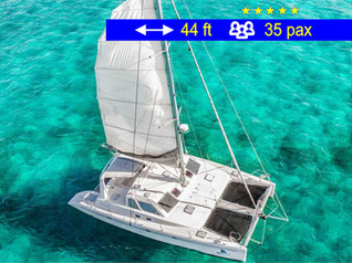 Catamaran Tours Explorer Cancun              44 ft  /  35 pax