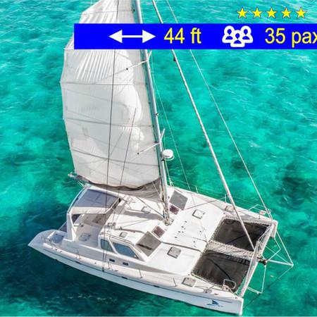 Catamaran Tours Explorer Cancun              44 ft  /  35 pax