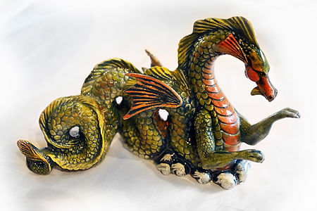Magnificent Sea Dragon, very detailed.