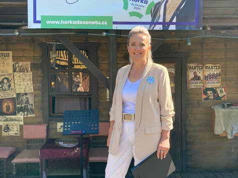 Volební kampaň jsem zahájila v Šiklandu