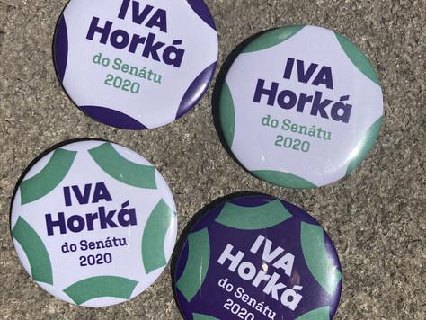 Tisková zpráva - Iva Horká kandiduje jako nezávislá do Senátu