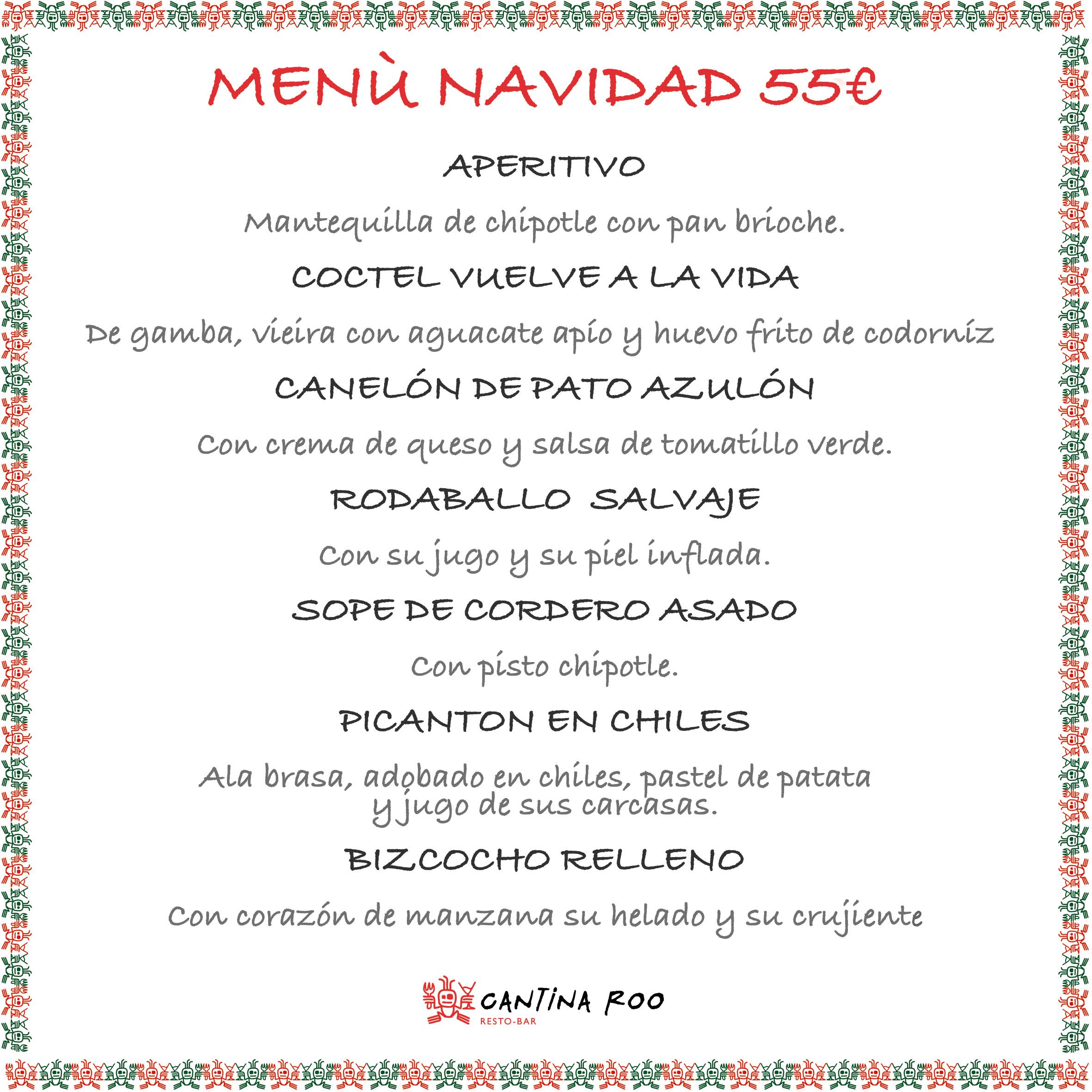 menu navidad 55