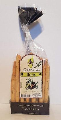 Gressins aux Olives