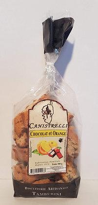 Canistrelli aux Pépites de chocolat et goût orange