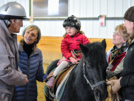 Horse Sense: Non-Profit Lets Children and Adults Live Their Best Days