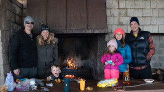 Winter grilling at Forest Park Beach