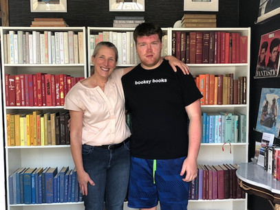 Mother-Son Duo Hit the Books with New Store