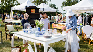 53rd Lake Forest Antiques & Treasures In the Field