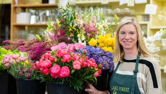 Lake Forest Flowers Owner Eileen Looby Weber