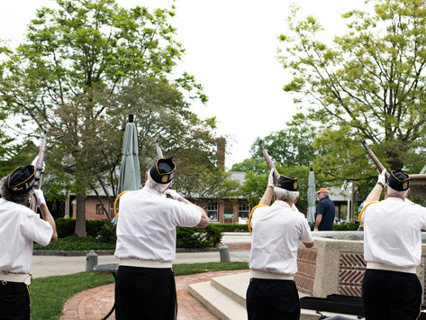 Remembering the Fallen in Market Square