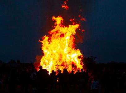 Bagpipes & Bonfire Is Sure to Give You Surprises -- and Chills