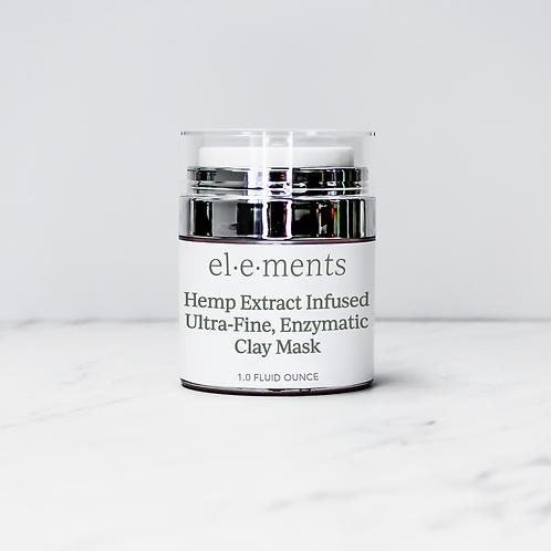Hemp Ultra Fine Enzymatic Clay Mask