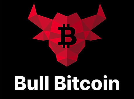 BULLBITCOIN Red (White text) Vertical.jp