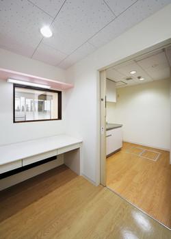 1階事務室・キッチン
