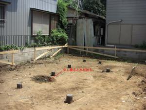 構造 住宅の基礎を考える (3) -鋼管杭