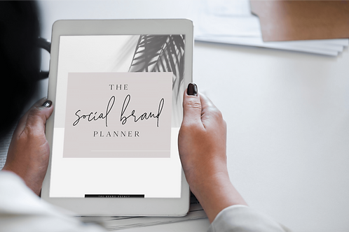 The SOCIAL BRAND Digital Planner