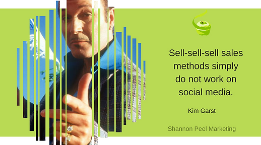 markting quote kim garst social selling sell