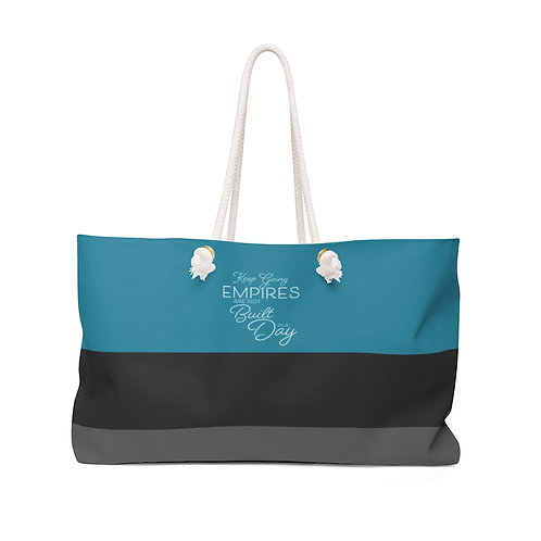 Business Woman Motivational Weekender Bag
