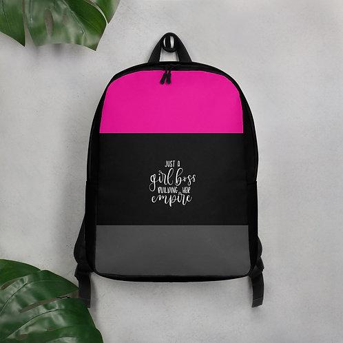 Business Woman Minimalist Backpack