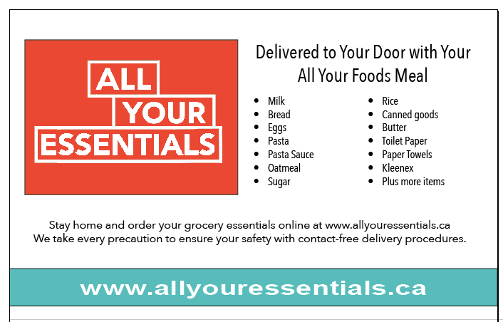 All Your Essentials Flyer