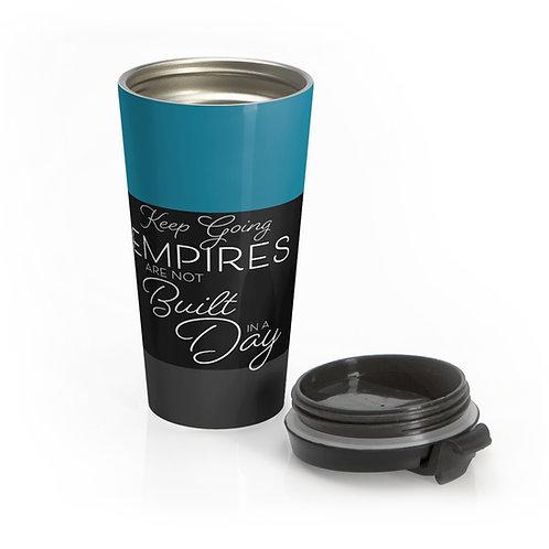Motivational Stainless Steel Travel Mug