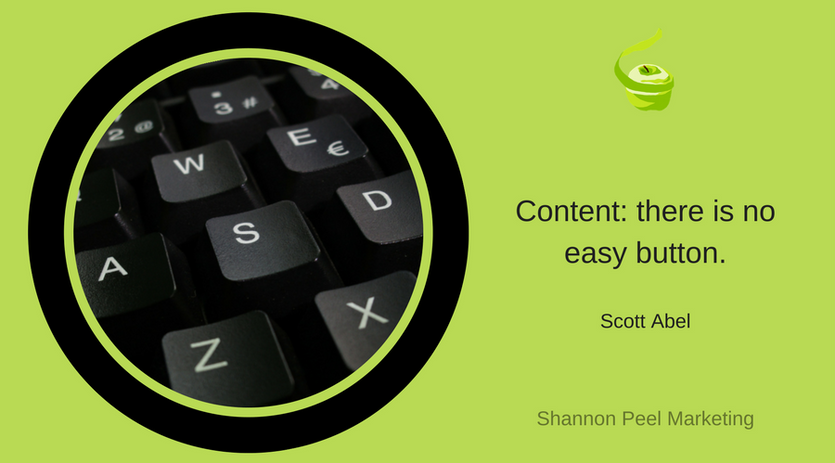 Maketing Quote Content easy button