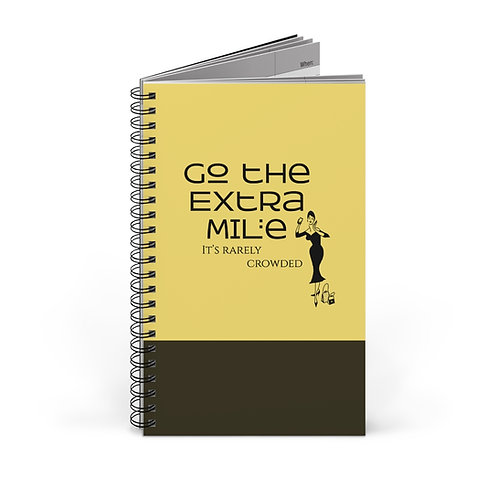 Go the Extra Mile Spiral Journal (EU)