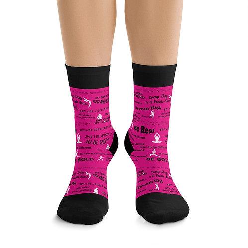 Inspirational yoga DTG Socks