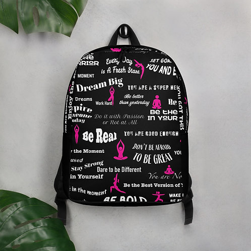 Yoga Inspired Minimalist Backpack