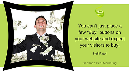marketing quote neil patel seo buying cycle