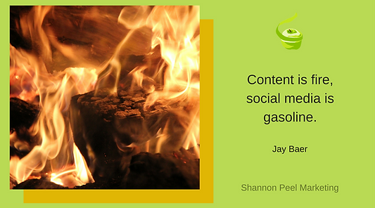 Marketing quote Content Jay Baer Social Media tip