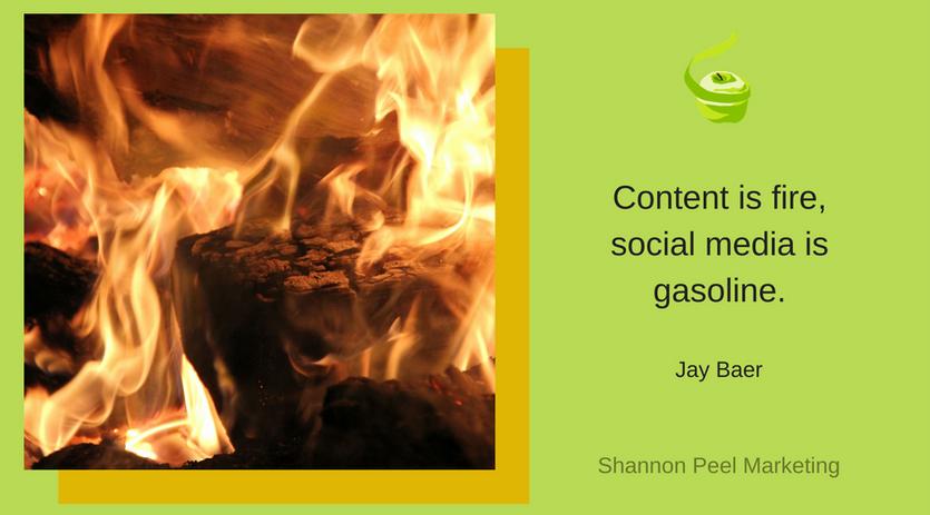 Social media content quote