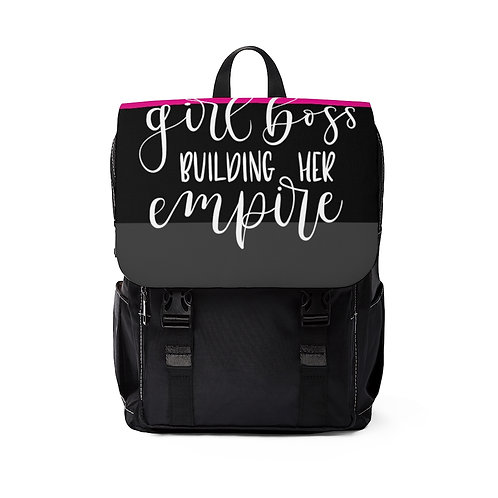 Business Woman's Casual Shoulder Backpack