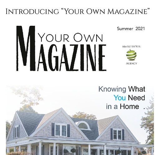 Your Own Magazine (Individual Package)