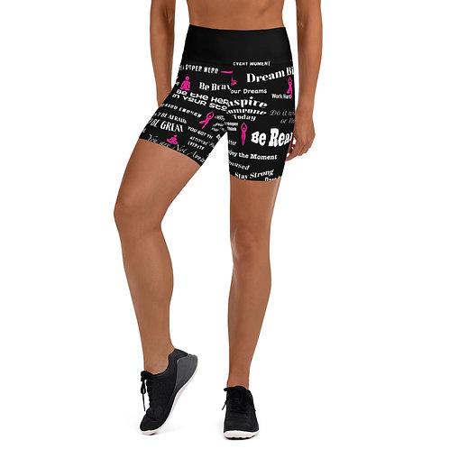 Inspired Yoga Shorts