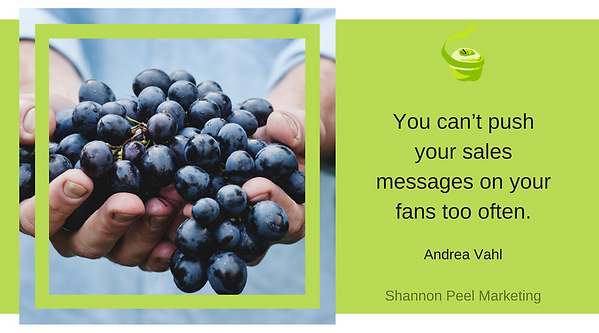 marketing quote andrea vahl customer buying